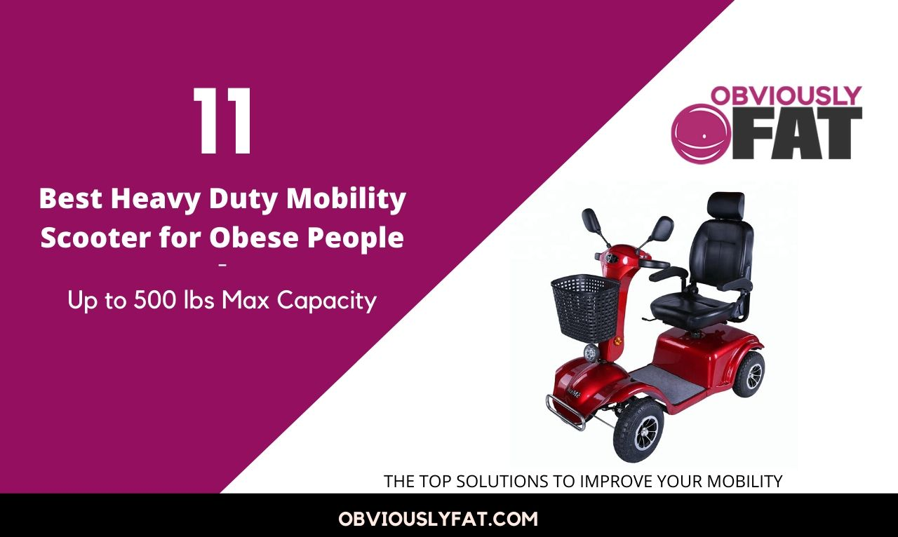 best heavy duty mobility scooters for obese persons