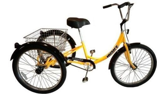 husky industrial heavy duty adult tricycle